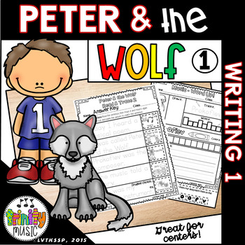 Peter and the Wolf Writing Activities