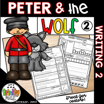 Peter and the Wolf Writing Activities 2