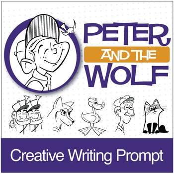 Peter and the Wolf | Writing Prompt (Digital Print)