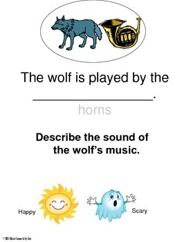 Peter and the Wolf integrated Packet