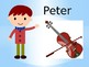 Peter and the Wolf visual aid