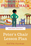 Peter's Chair Detailed edTPA Lesson Plan