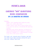 Peter's Chair/La Silla De Pedro Cariboo WH questions overlay