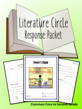 Peter's Chair Literature Circle Response Packet- Guided Reading- Book Club!