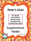 Peter's Chair--Supplemental Packet--Reading Street First Grade