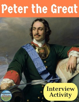 Peter the Great Interview Review Activity