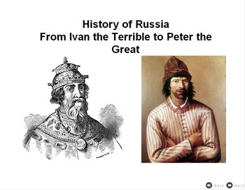 Peter the Great - Quiz and Print - Bill Burton