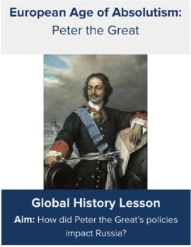 Peter the Great Stations Activity
