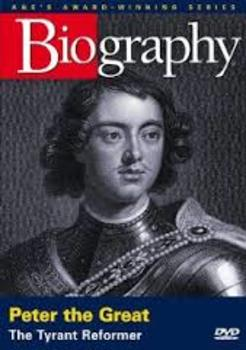 Peter the Great: Tyrant Reformer fill-in-the-blank movie guide