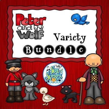 Peter & the Wolf Activities Bundle