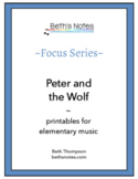 Peter & the Wolf: Handouts & Assessment