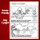 Peter & the Wolf Story Re-Telling & Coloring Sheets
