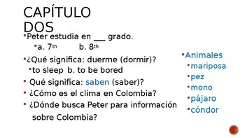 Peter va a Colombia Power Point