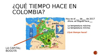 """Peter va a Colombia""(C. Dexemple) Power Point"