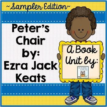 Peter's Chair Book Unit Free Sampler