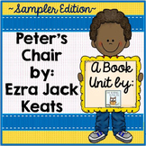 Peter's Chair Book Unit Free Sampler