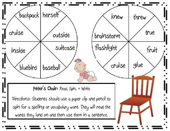 Peter's Chair Games