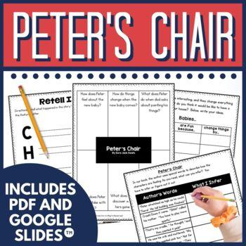 Peter's Chair by Ezra Jack Keats Activities