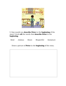 Peter's Chair Language Packet