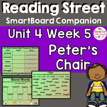 Peter's Chair SmartBoard Companion 1st First Grade