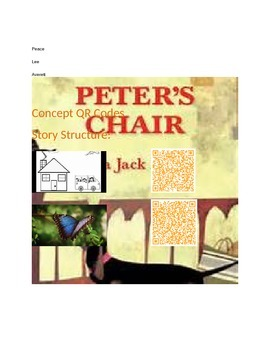 Peter's Chair with QR Codes