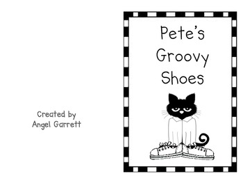 Cool Cat's Groovy Shoes Color Book (student & Teacher Version)