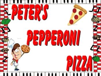 Pete's Pepperoni Pizza Book!