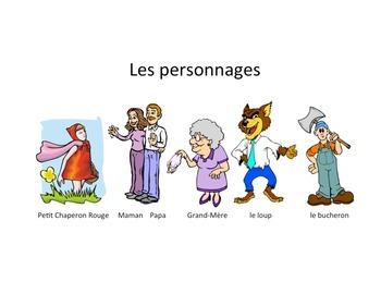 Petit Chaperon Rouge (Little Red Riding Hood) French Storytelling Unit