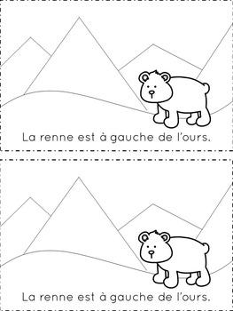 Petit Livrets: Les aventures d'un renne // French Reindeer Readers