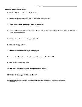 Petit Nicolas Questions