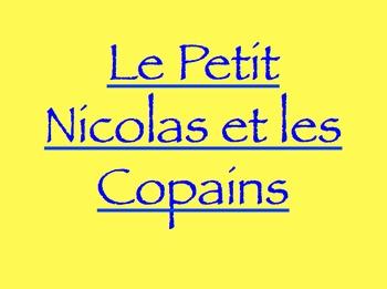 Petit Nicolas et Les Copains : QUIZ for chapters 1-5