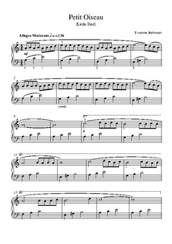 Petit Oiseau (Little Bird) - A Level 4 Piano Study