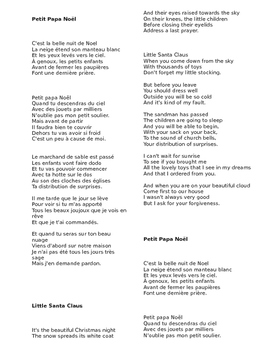 Petit Papa Noël - French Christmas Song Lyrics