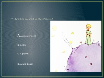 Petit Prince--Chapters 1-5 Review Questions