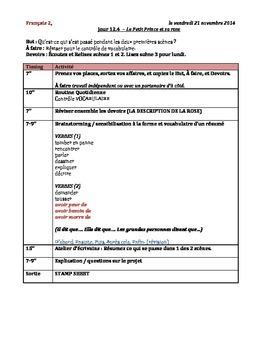 Petit Prince Vocabulary Quiz