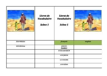 Petit Prince pièce de théâtre: vocabulaire et questions de compréhension