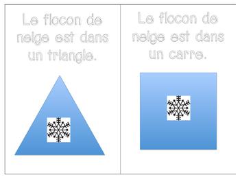 Petit flocon et les formes 2D