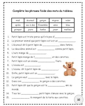 Petit lapin cherche un ami:  histoire simple et répétitive
