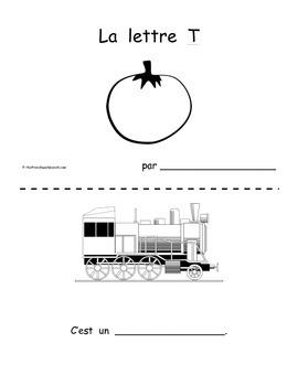 Petit livre 1: La lettre T (part 1)