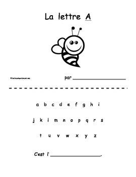 Petit livre 12:  La lettre A