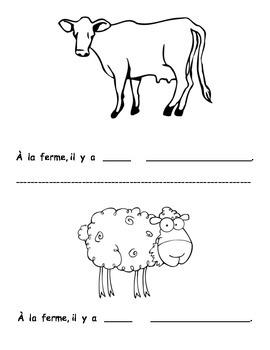 Petit livre 18:  À la ferme