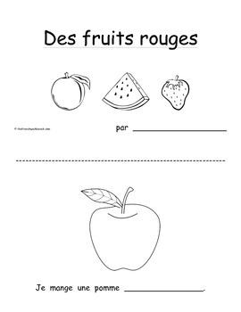 Petit livre 21:  Les fruits rouges