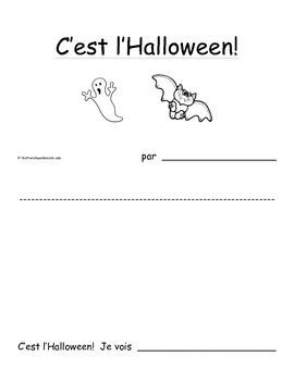 Petit livre 7: C'est l'Halloween