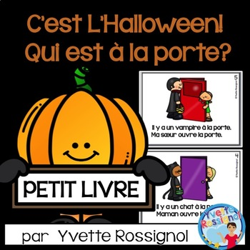 Petit Livre Pour L Halloween French Halloween Reading