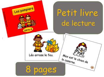 Petit livre - Série A - Les pompiers