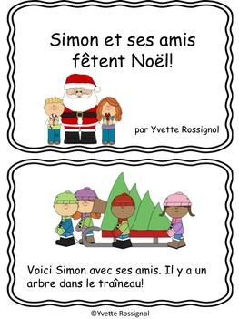 Petit livre gratuit (Noël, French ressource, French immersion)
