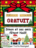 Petit livre gratuit (Noël, French ressource, French immersion)