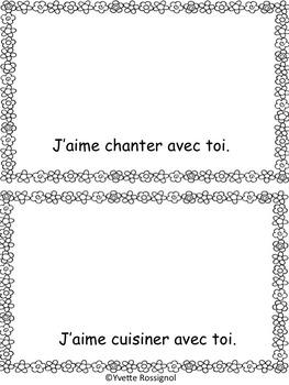 Petit livre pour la fête des mères (French Mother's Day, gratuit)