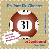 French Conditionnel - French story with exercises - Jour de Chance