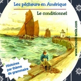 French reading - Conditionnel -A dialogue w/ exercises -Le
